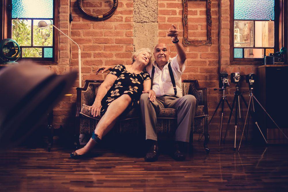 Seniors on a date